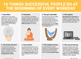 16 Ways Successful People Begin Their Day