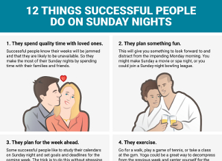 12 Ways to Have a Productive Sunday