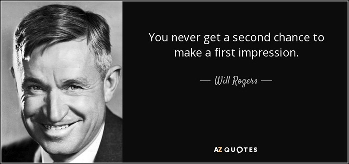 first-impression-quote-rogers