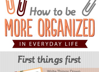 19 Ways to Be More Organized