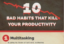10 Habits that Kill Productivity