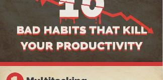 10 Habits that Kill Productivity