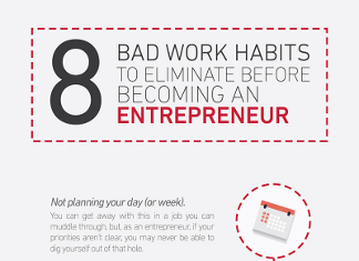 8 Bad Habits that Will Destroy Your New Business