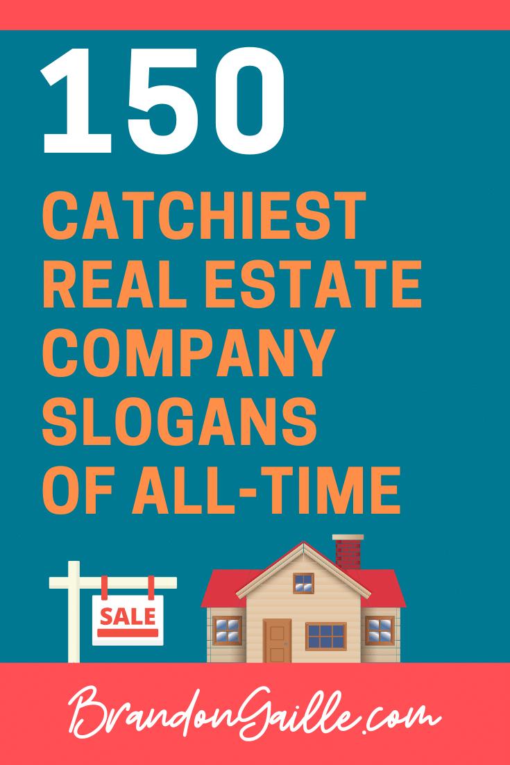 Real Estate Company Slogans