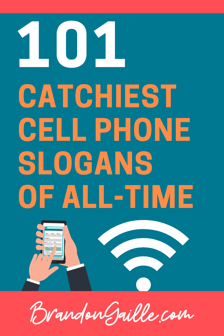 cell phone slogans