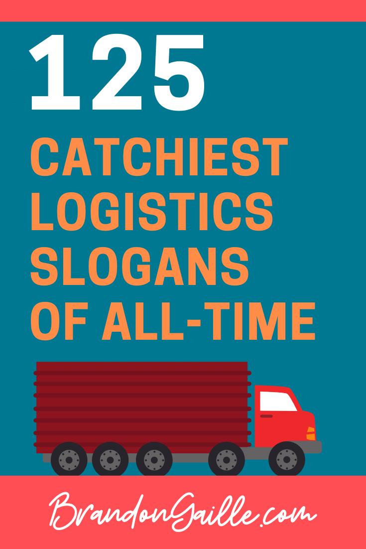 Logistics Slogans