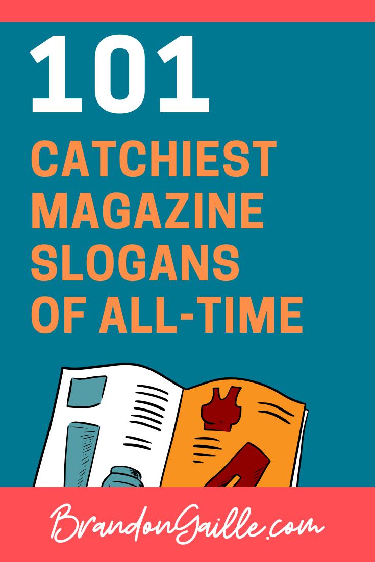 Magazine Slogans