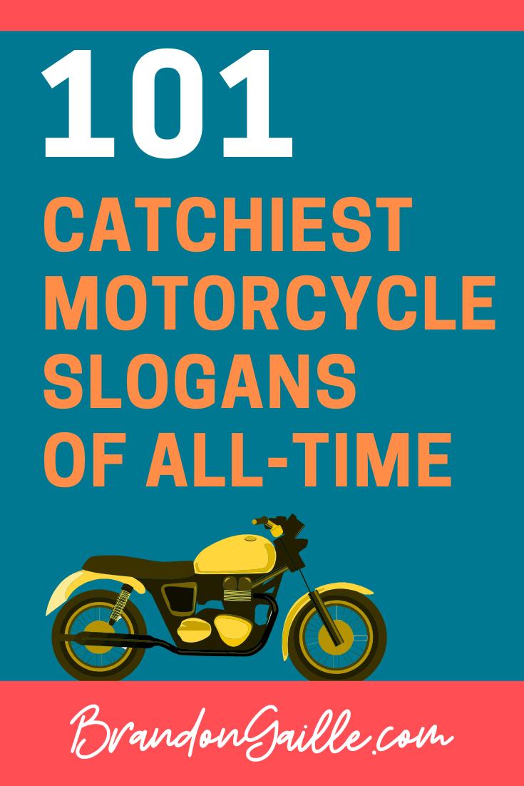 Motorcycle Slogans