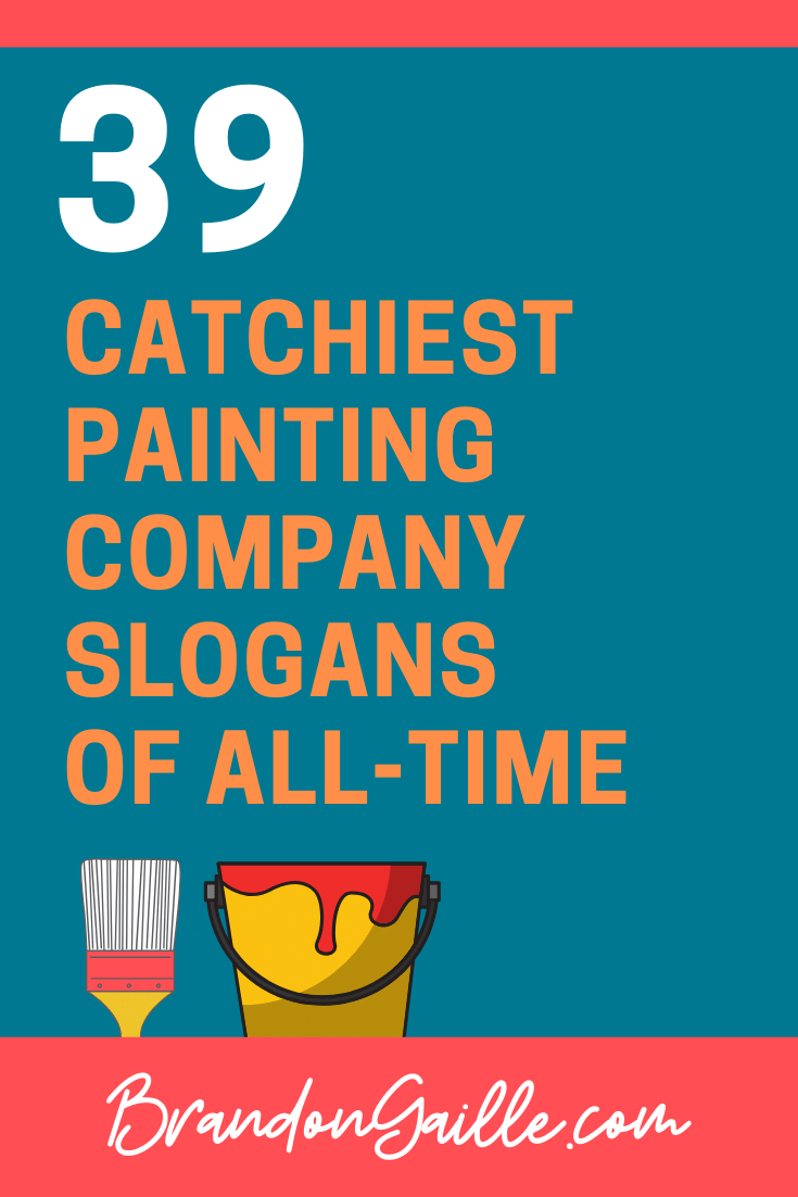 Painting Company Slogans