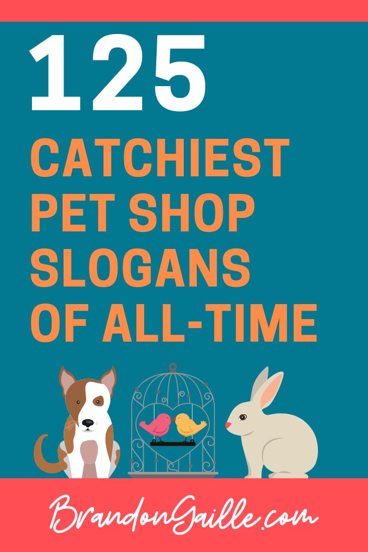 Pet Shop Slogans
