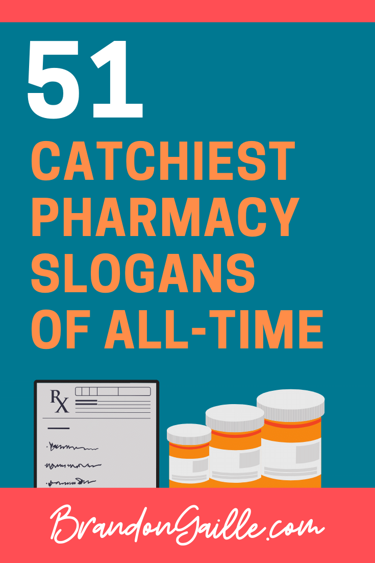 Pharmacy Slogans