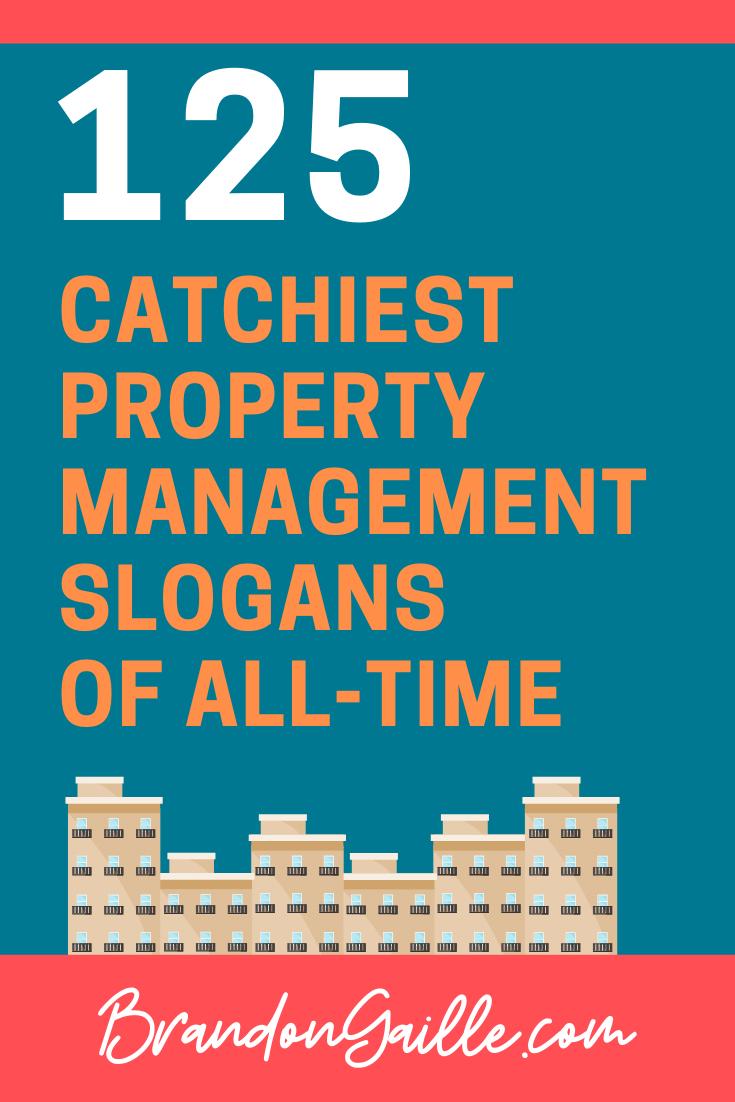 Property Management Slogans
