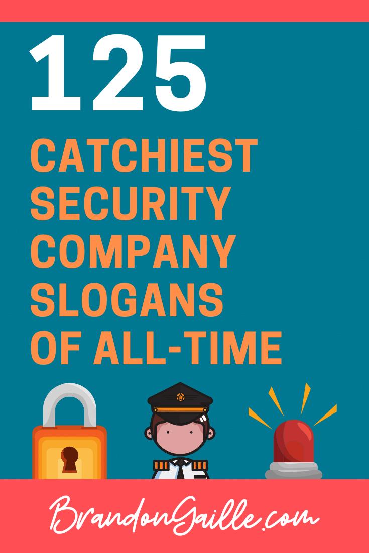 Security Company Slogans
