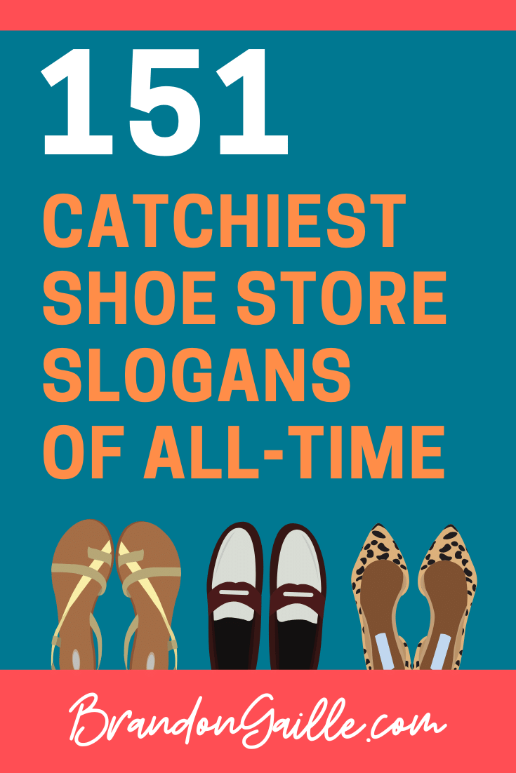Shoe Store Slogans
