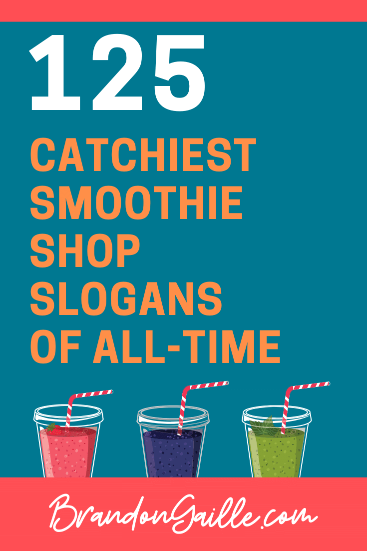 Smoothie Shop Slogans