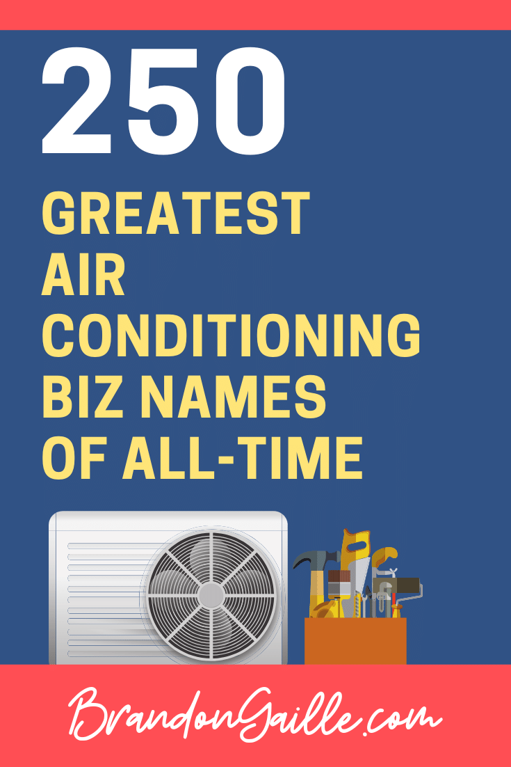 Air Conditioning Company Names