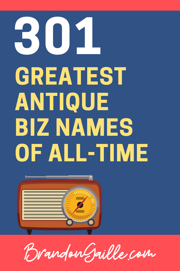 Antique Business Names