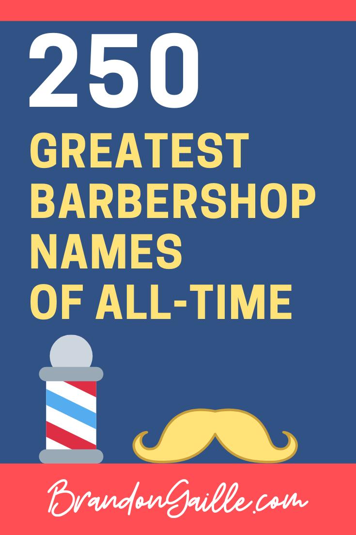 Barbershop Names