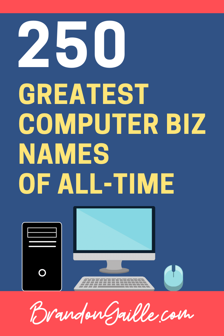 Computer Business Names