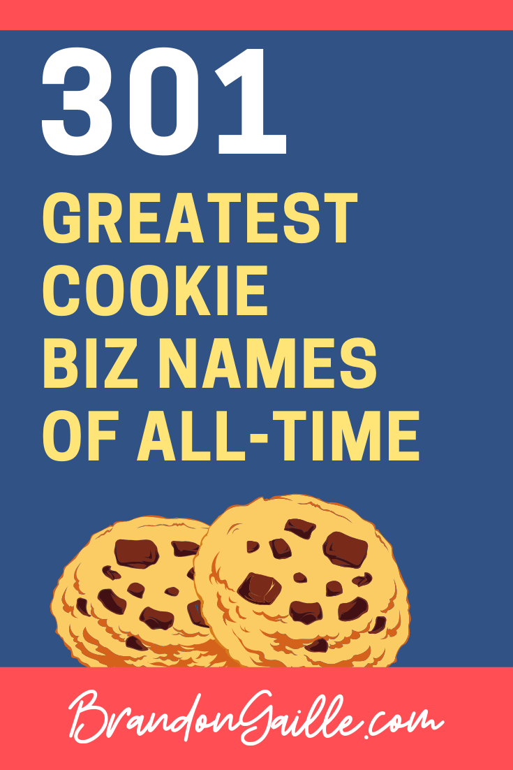 Cookie Company Names