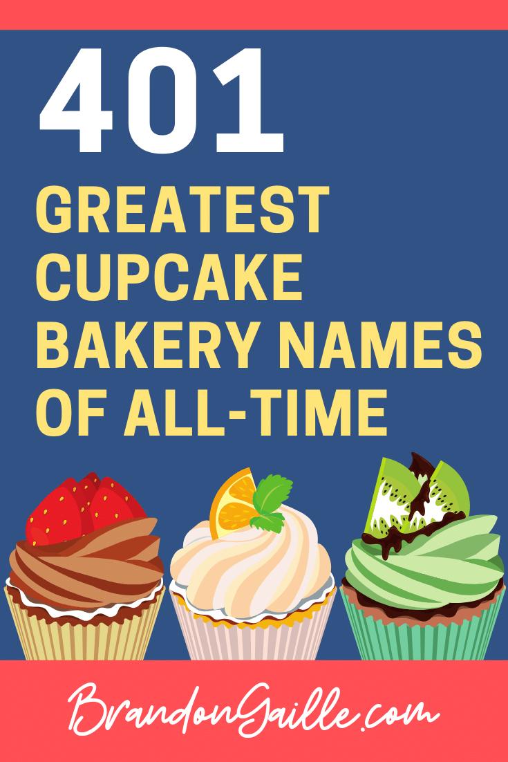 Cupcake Bakery Names