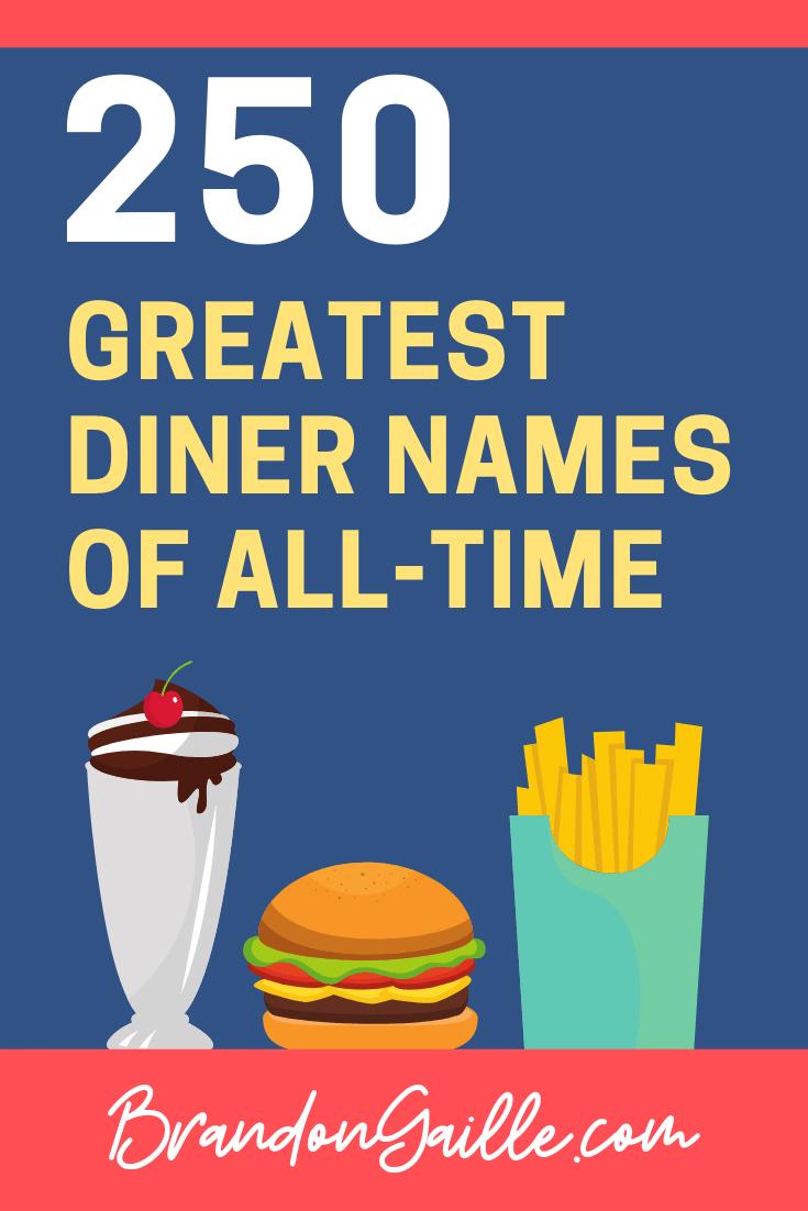 Diner Names