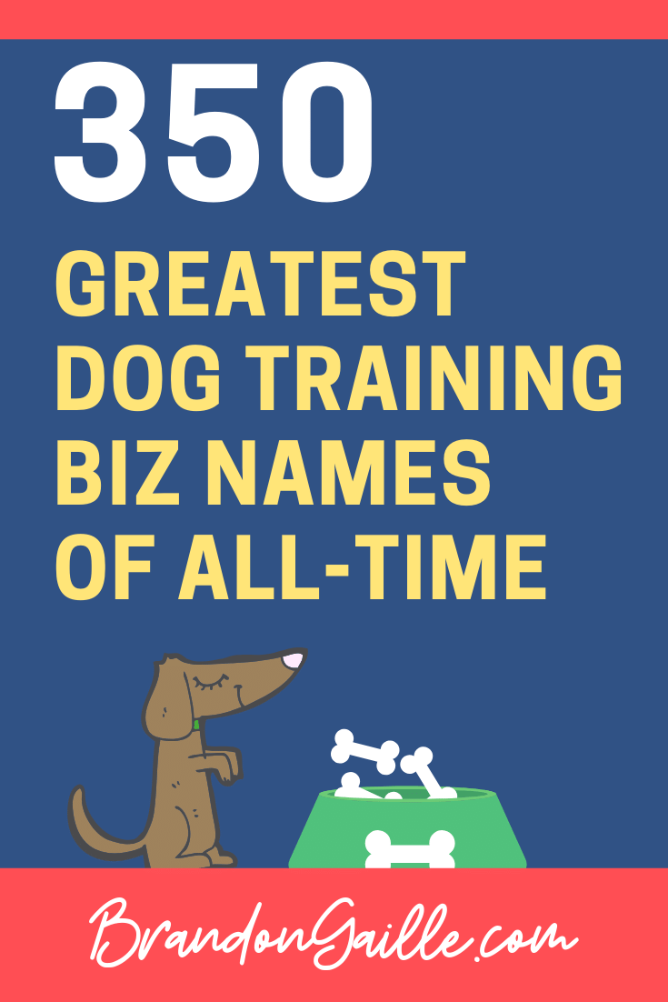 Dog Training Business Names