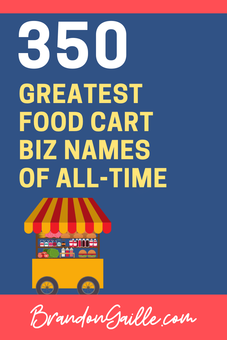 Food Cart Business Names