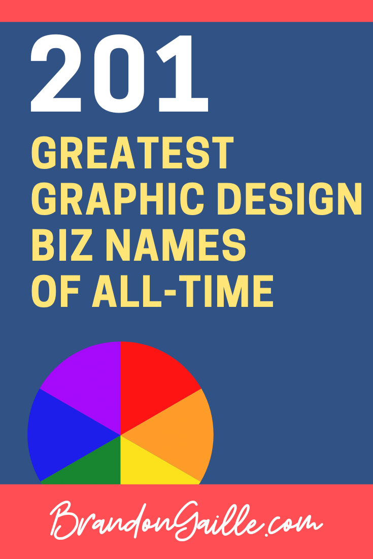 Graphic Design names