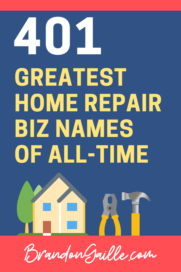 Home Repair Business Names