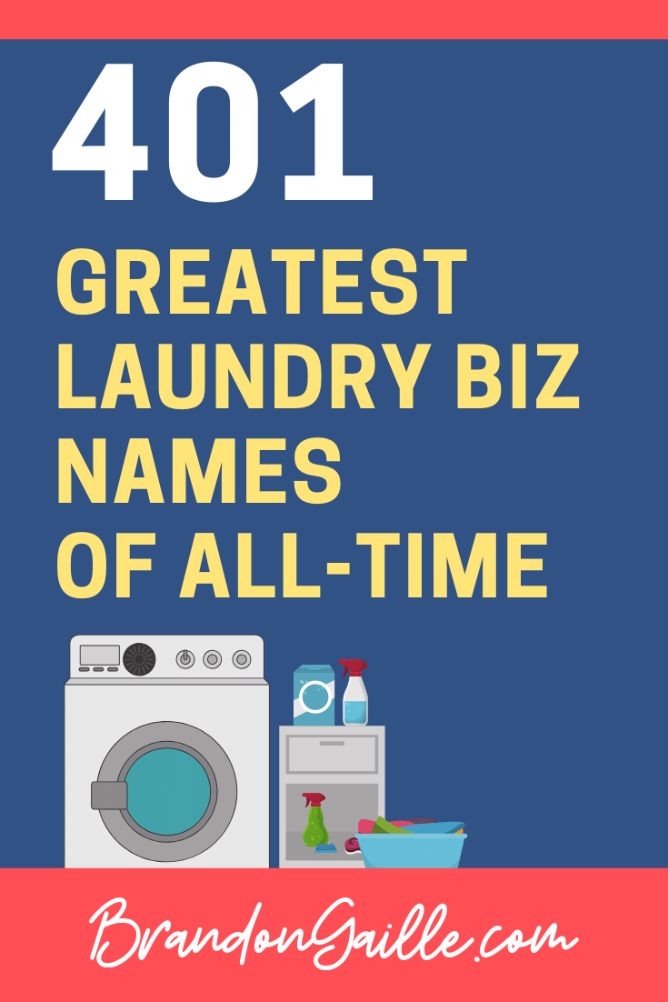Laundry Business Names