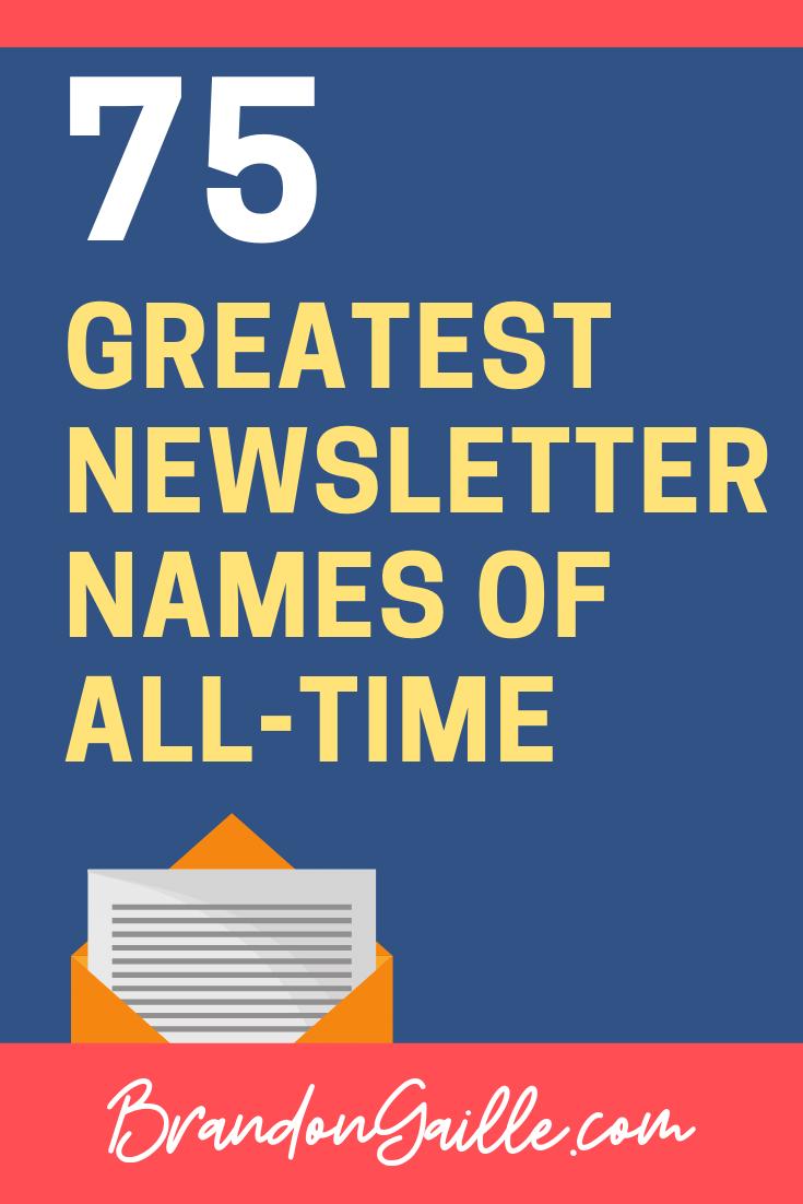 newsletter-names