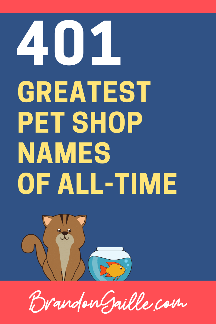 Pet Shop Business Names