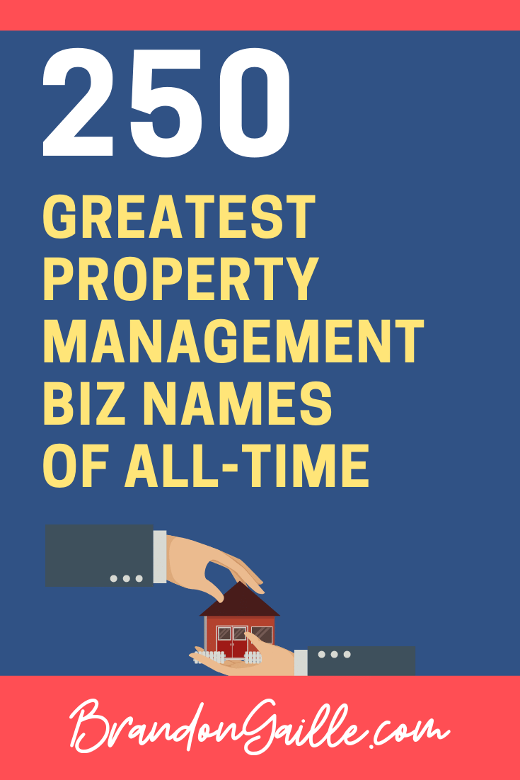 Property Management Company Names
