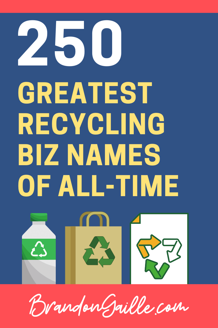 Recycling Company Names