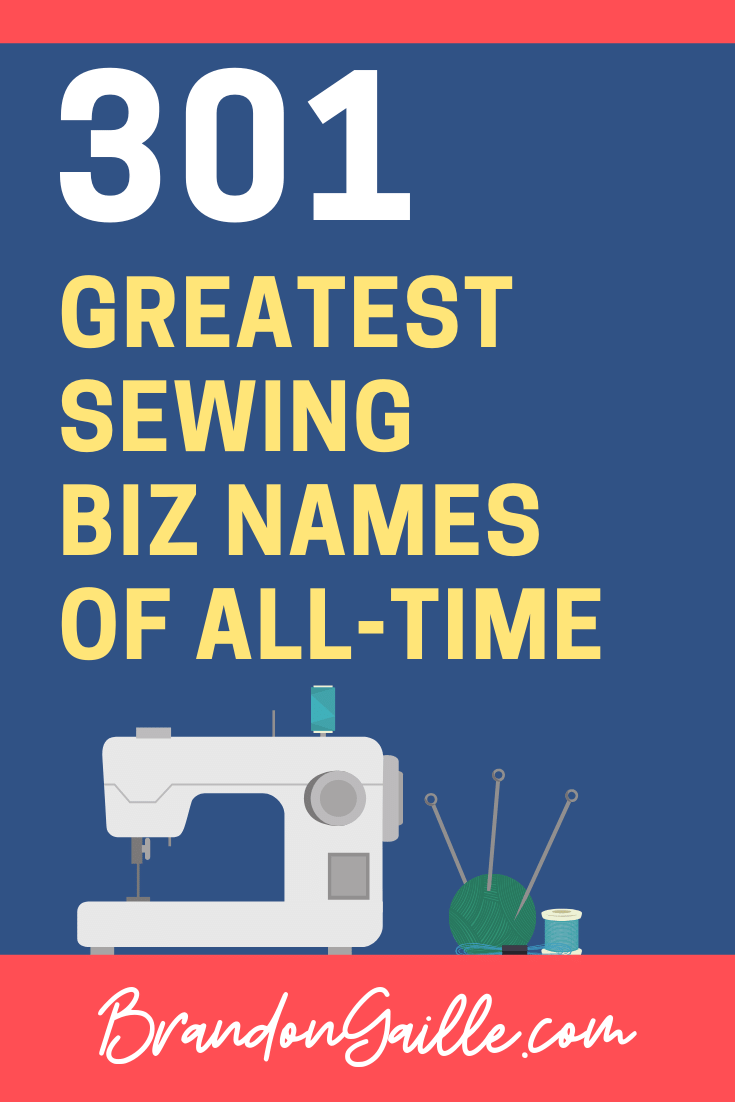 Sewing Company Names