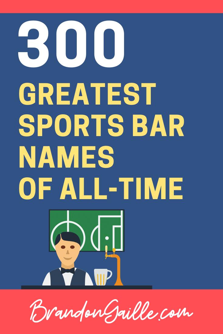 Sports Bar Names