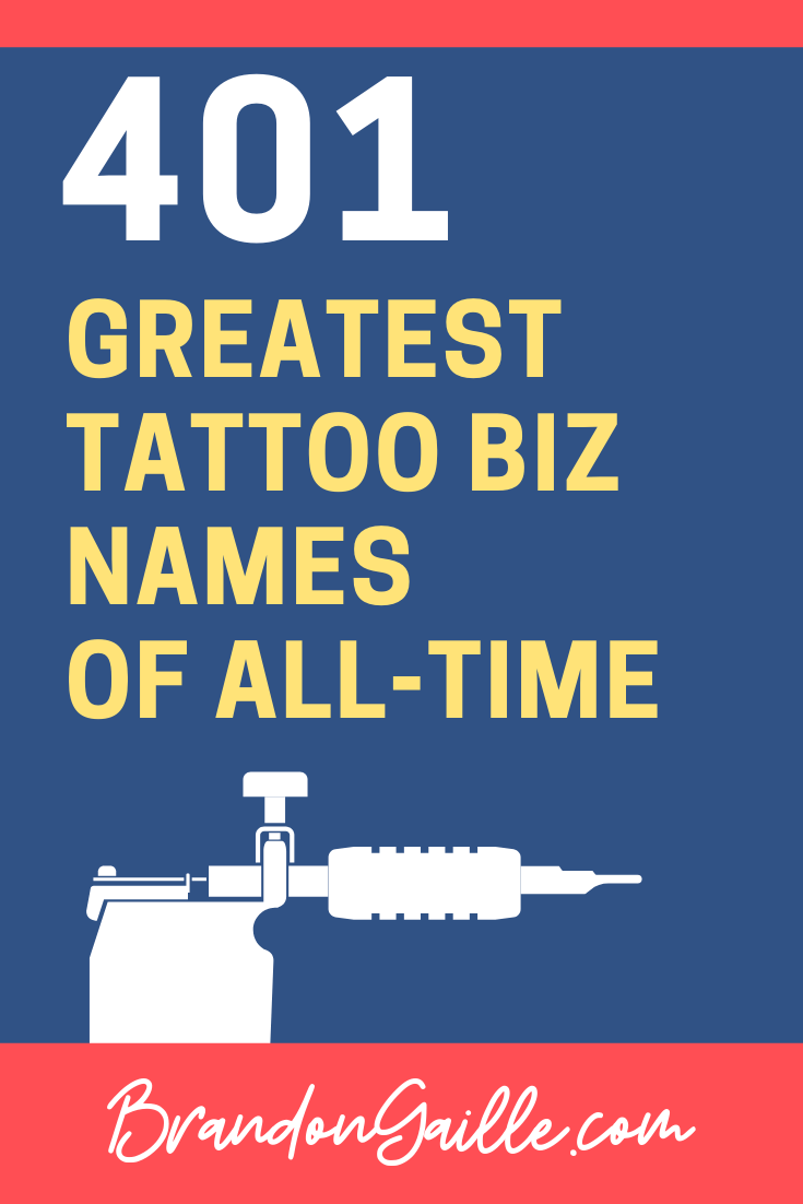 Tattoo Business Names