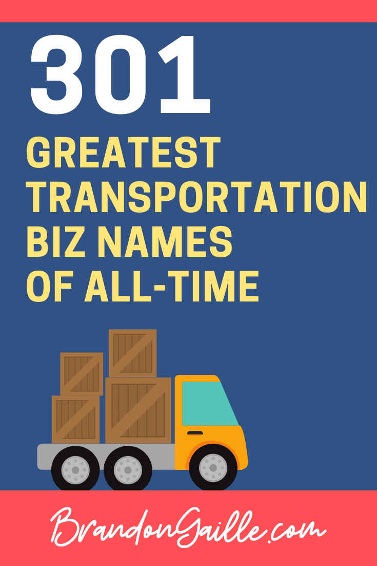 Transportation Company Names