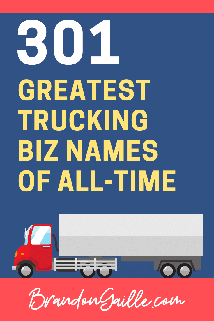 Trucking Company Names