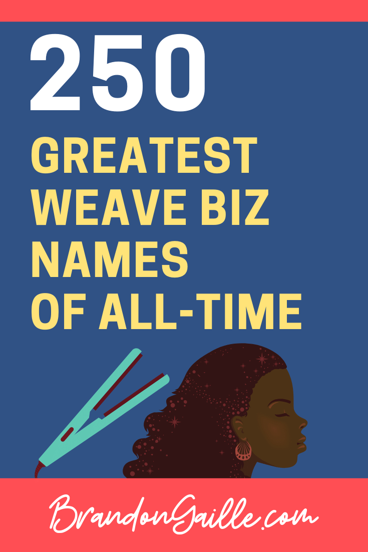 Weave Business Names