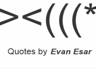 37 Breathtaking Evan Esar Quotes