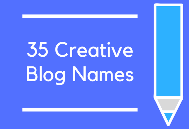 35 Creative Blog Names