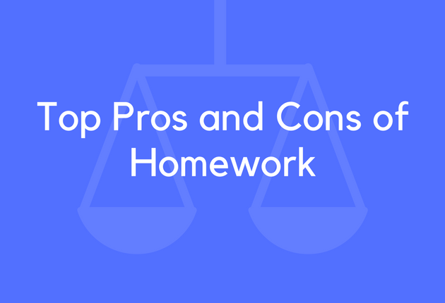 Cons For Homework