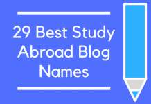 29 Best Study Abroad Blog Names