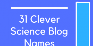 31 Clever Science Blog Names