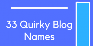 33 Quirky Blog Names