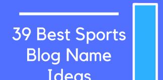 39 Best Sports Blog Name Ideas