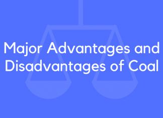 Major Advantages and Disadvantages of Coal