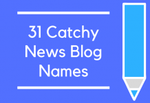 31 Catchy News Blog Names